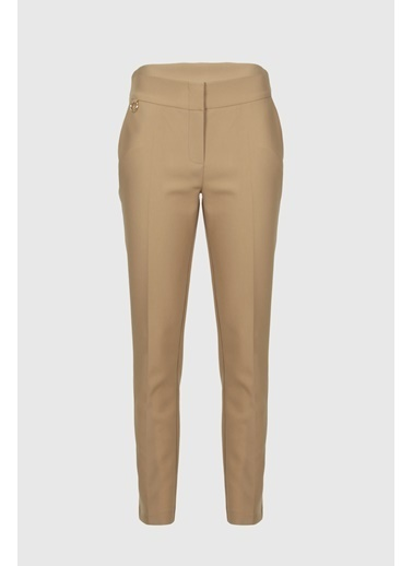 Fever Fever Basic Fit Form Pantolon   Camel